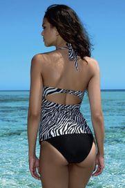 dámské plavky Lorin L5018 6 zebra černá 36 70B 9f144a9d56