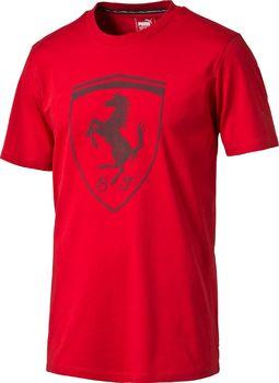 b5804ef0ae71 Puma Ferrari Big Shield Tee 571207-02 červené