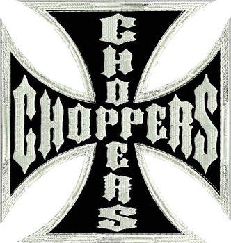Nášivky Nášivka Kříž Chopper - velká 51f9e76b47