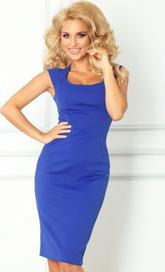 dámské šaty Numoco 53-10A modré efec8a56ce