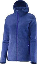 b45e6b35f9 dámská mikina Salomon Bise Hoodie W Mazarine Blue