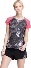 d5b30c52856 dámské tričko Desigual A-T-S Short Sleeve B Gris Metal vícebarevná