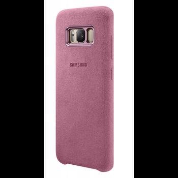 Samsung Alcantara Cover S8+ (G955) Pink. Hýčkejte svůj mobilní telefon Samsung  Galaxy S8 ... e9e65222e28