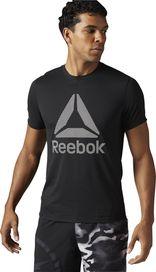 b4e73ab83ac pánské tričko Reebok Workout Ready Supremium 2.0 Big Logo Tee černé