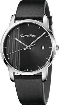 ad7d816ae Pánské hodinky Calvin Klein Hodinky mají pouzdro z ušlechtilé oceli a pásek  je kožený. Ciferník chrání minerální sklo.