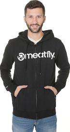 03870b56560 pánská mikina Meatfly Form Hoodie A Black