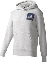 pánská mikina adidas Essentials Logo šedá 7995829ab7d