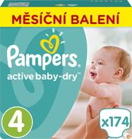 Pampers Pleny Active Baby 4 Maxi 8-14kg