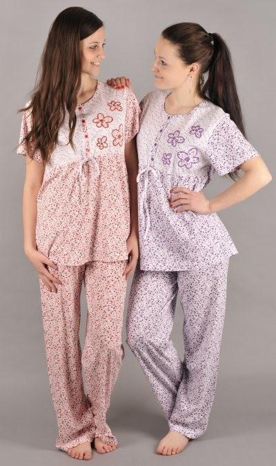 e669f231564 Dámské pyžamo s krátkým rukávem VIENETTA telátko - růžové • Zboží.cz