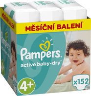 Pampers Active Baby 4+