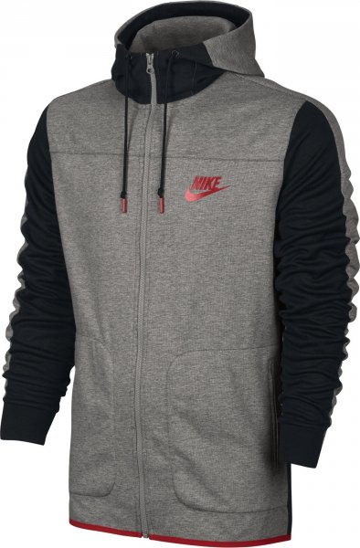 NIKE Sportswear Advance 15 Hoodie šedá od 1 990 Kč • Zboží.cz 227a70da554