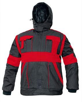 ceb4f5e5b75b Červa Max Winter bunda černá červená od 834 Kč • Zboží.cz