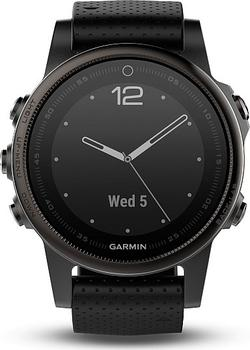 Garmin fenix5S Sapphire Gray Optic Black Band od 12 278 Kč • Zboží.cz 3f76ad78b4