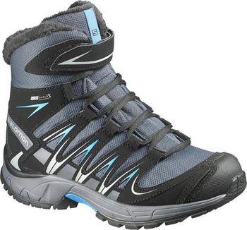 Salomon XA Pro 3D Winter TS CSWP J Grey denim black methyl blue ... 0f2b6aa77a3