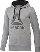 Jak hodnotíte Reebok Workout Ready Big Logo Cotton Poly Hoodie šedá  4175a939c9