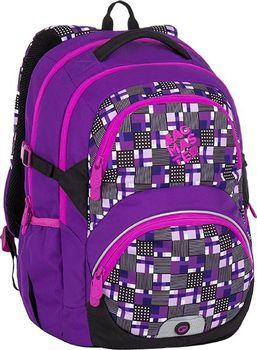 Bagmaster Theory 7 C. Dvoukomorový dívčí prostorný školní batoh ... 31e87bc43e