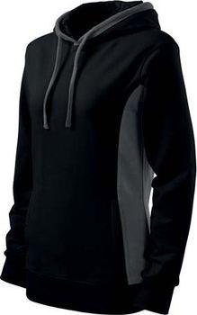 ADLER Kangaroo s kapucí černá. Trendová dámská mikina ... 72aa7908b6