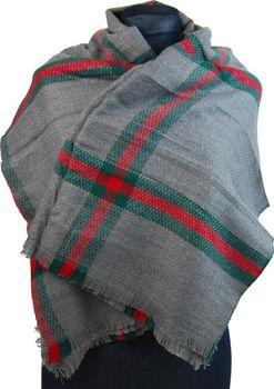 NEW BERRY dámská pletená šála   pléd BC717… 0aee1e9e4e