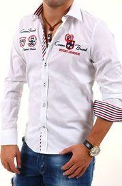 e65ead6f85d Bílé pánské košile slim fit • Zboží.cz