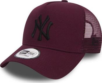 New Era League Essential Trucker New York Yankees 9Forty Maroon Black f8a6fe7164