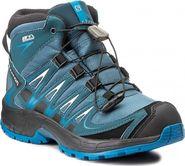131de7c1890 dětská treková obuv Salomon XA Pro 3D Mid Cswp K Mallard Blue Reflecting  Pond