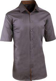 Šedé stříbrné pánské košile • Zboží.cz 1be55d8b4c