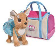 048b7105e plyšová hračka Simba ChiChi Love Pejsek čivava Ice Fashion v tašce