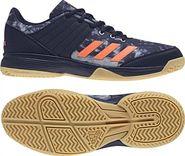 pánská sálová obuv Adidas Ligra 5 Legend Ink Hi-Res Orange Grey Two 616501df57