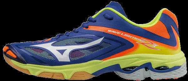 Mizuno Wave Lightning Z3 Blue Green Orange White od 2 333 Kč • Zboží.cz 7ceacde5e2