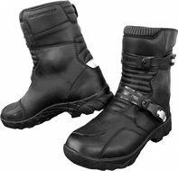 moto obuv Kore Adventure Mid boty černé 2a1a8384b3