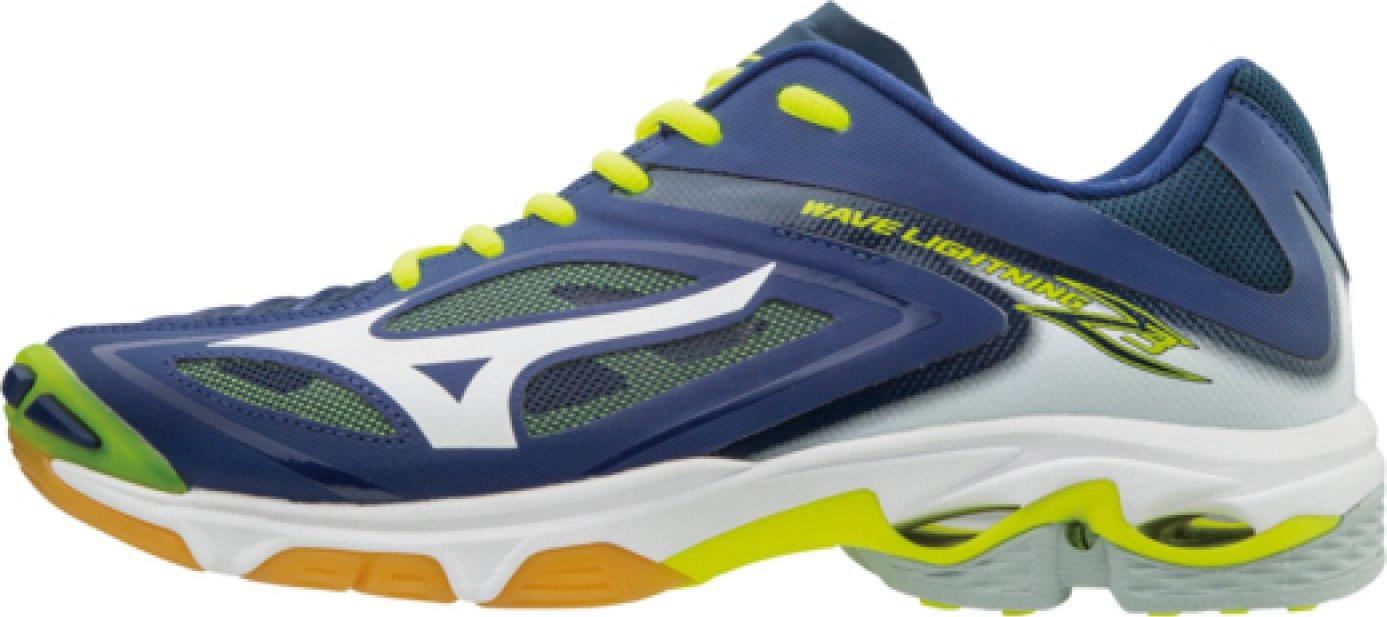 55f8f629f55 Mizuno Wave Lightning Z3 Blue Depths White Safety Yellow od 2 332 Kč •  Zboží.cz