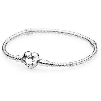 Pandora 590719. Dámský pevný stříbrný náramek ... 45152f95494