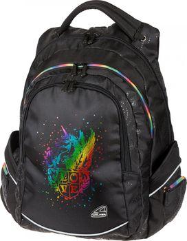 30f62a34b8f Walker Fame Unicorn Black studentský batoh od 1 390 Kč • Zboží.cz