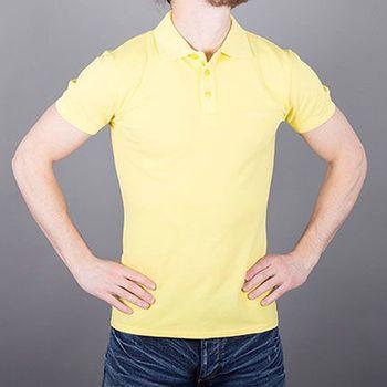 Armani Jeans Polo tričko pánské AJ žluté S a53f21dcd85