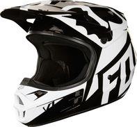 510a2147912 helma na motorku Fox Racing V1 Race MX18 Helmet černá