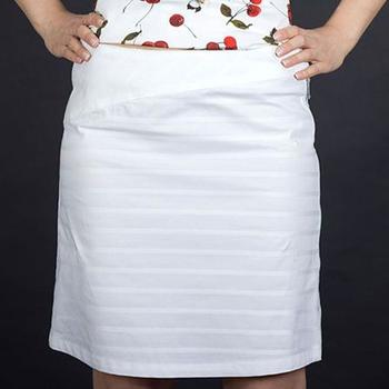 Armani Jeans Dámská sukně Armani bílá XL 82eca5862f
