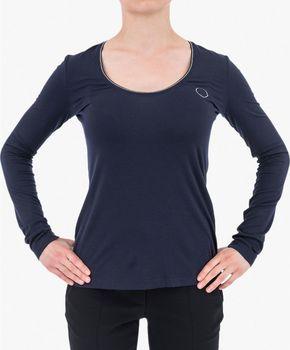 Modré dámská trička Armani Jeans • Zboží.cz 23f0e75312