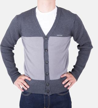 Luxusní pánský šedý svetr Armani Jeans 3509e87a81