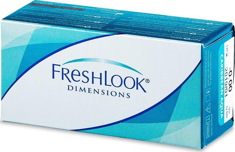 Alcon FreshLook Dimensions - nedioptrické (2 čočky) od 419 Kč • Zboží.cz 16d8da9c2c7
