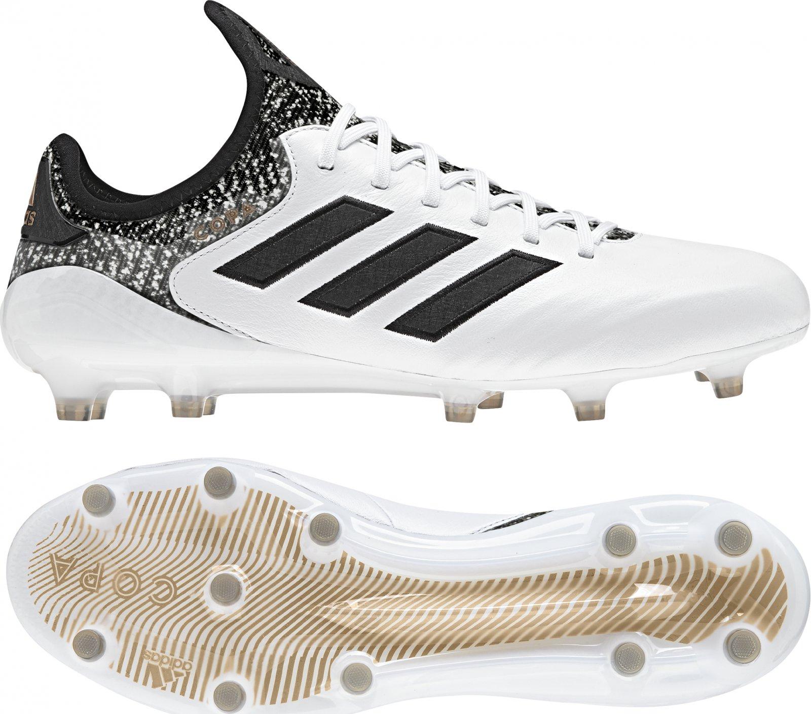 Adidas Copa 18.1 FG bílé/černé | Zboží.cz