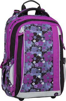 7eb93229420 Bagmaster Mercury 8 A. Tříkomorový dívčí školní batoh ...