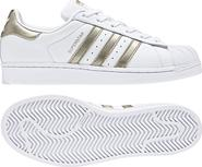 dámské tenisky Adidas Superstar W CG5463 bílé zlaté a6968920db
