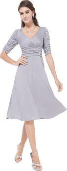 dc5fc0c00d9 Šedé stříbrné dámské šaty Ever Pretty • Zboží.cz