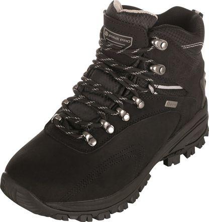 UNI outdoorová obuv Alpine Pro SPIDER 2 - černo-šedá / 40