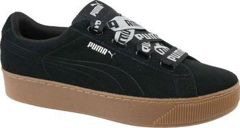 Puma Vikky Platform Ribbon MU 36531401 černé od 1 299 Kč • Zboží.cz 88d297fd55
