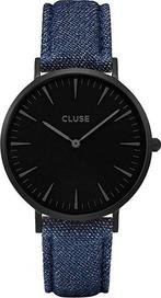 fc32253d97c hodinky Cluse La Bohème Full Black Denim Blue
