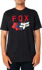 467c09321cbf pánské tričko Fox 74 Wins SS Tech Tee Heather Black