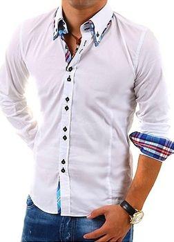Carisma H-110 bílá. Carisma H-110 bílá je pánská košile s dlouhým rukávem  ... f6684bef14