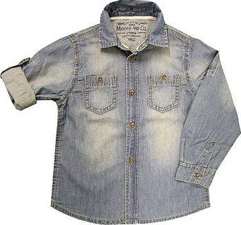 riflová košile s ohrnovacím rukávem Mayoral… 9a9cd73bef