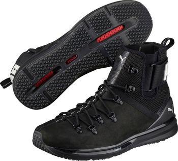 Puma Ignite Limitless Boot Leather Black. Černé pánské běžecké ... ee97d6c41f